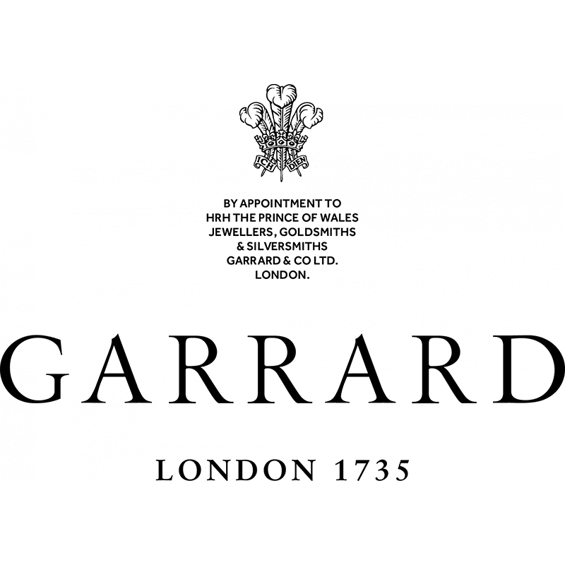 Garrard London 1735 logo black