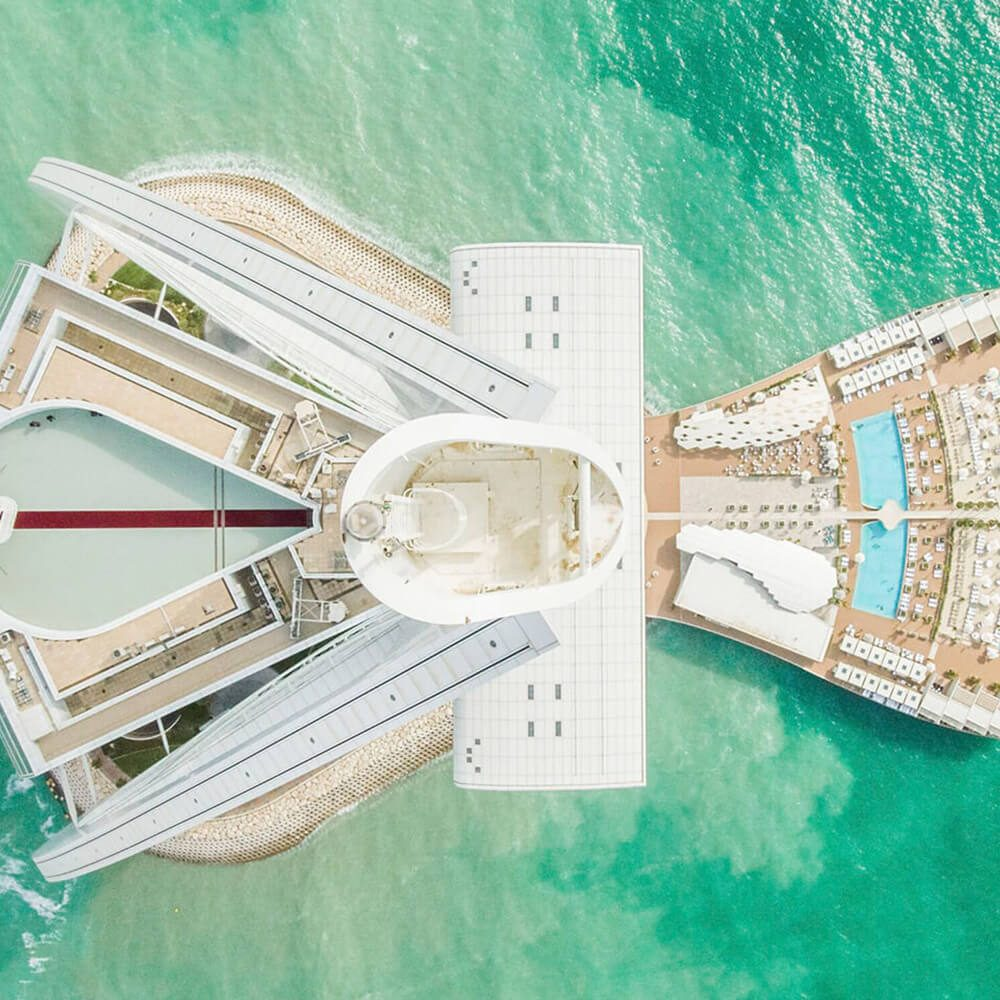 Jumeirah view from the sky