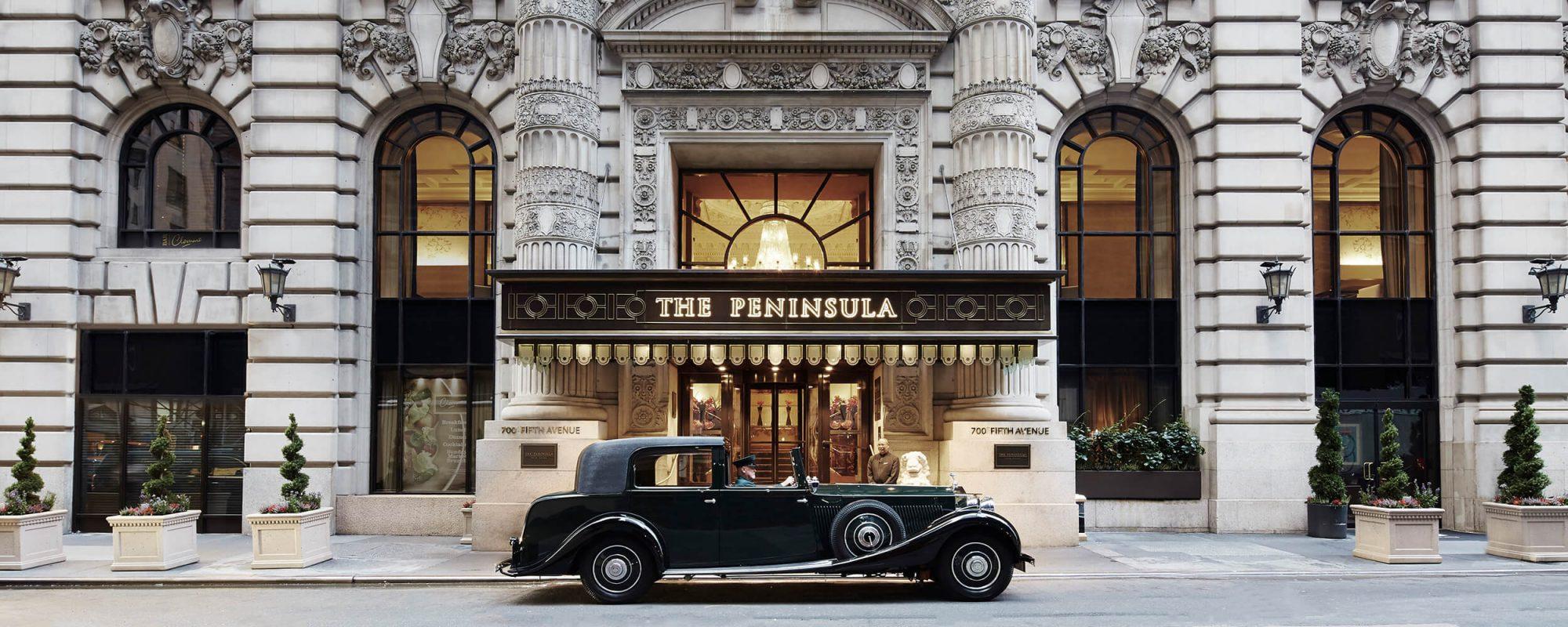 Peninsula entrance