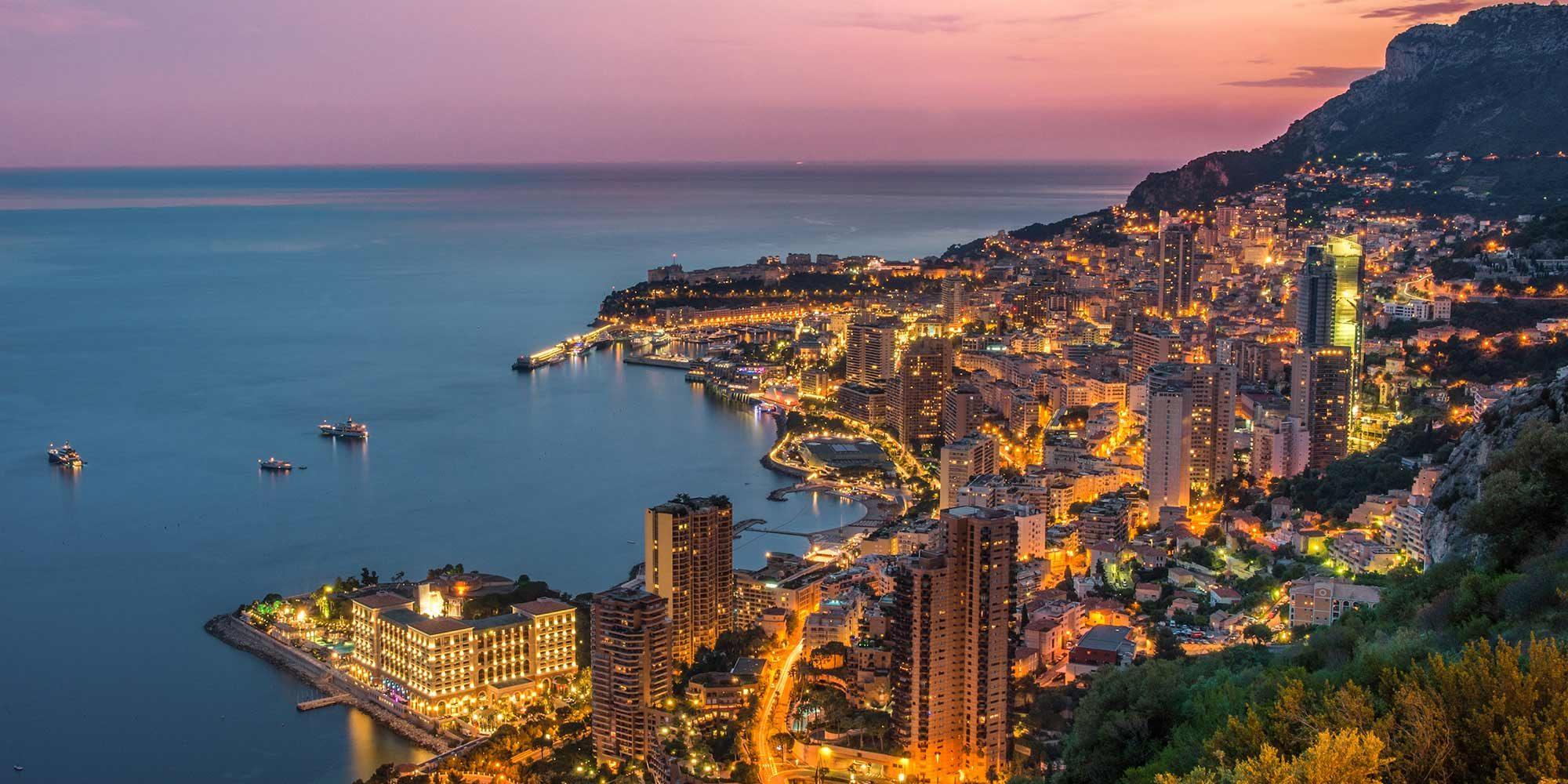 Monte Carlo Aerial photo